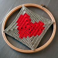 Corazón Granny Square