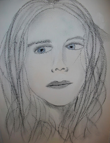 Charcoal portrait 1