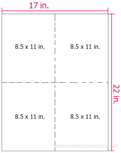 Determine the canvas size  based on the printer paper size.