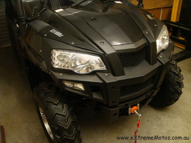 800cc Strike Hisun PQV-800 XUV Farm Sports UTV Side by side Black Front