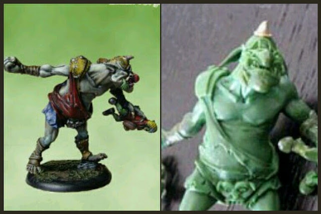 Blood Bowl Troll Goblin Forge