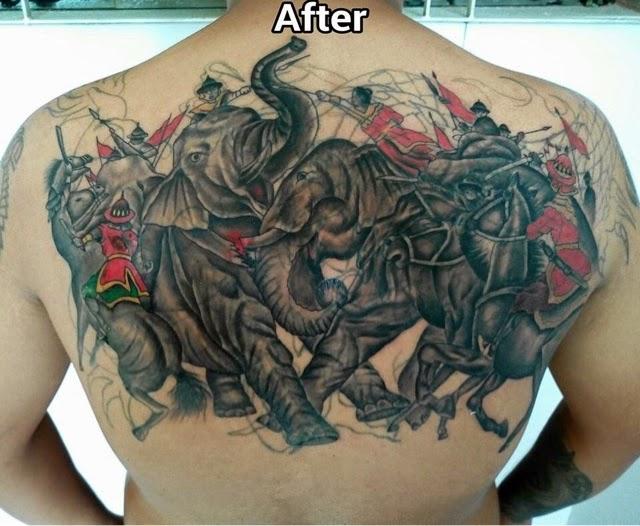 မနမ Tattoo ပညရငမလကရ