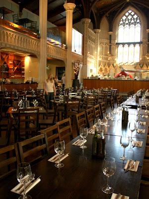 Church turned restaurant in Cheltenham