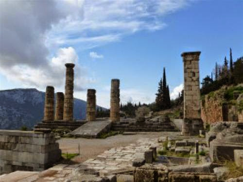 Oracle Of Delphi Part 3 Into The Past And The Underworld