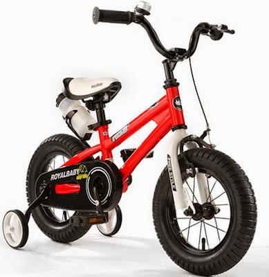 """Xe đạp Trẻ em FreeStyle 12"""" RoyalBaby RB12B-6-RED kiểu dáng thể thao năng động"""