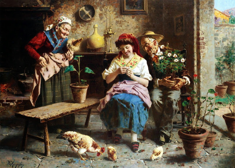 Eugenio Zampighi - A little flower