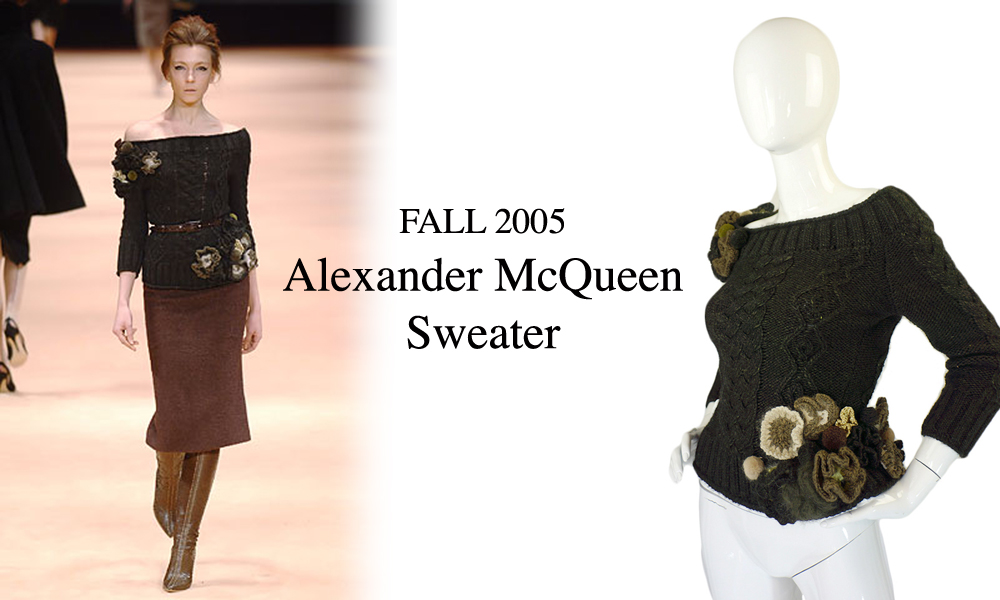 An Easy to Wear Alexander McQueen Runway Piece