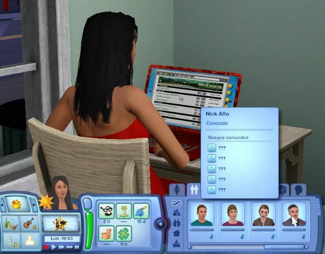 Relaciones online sims