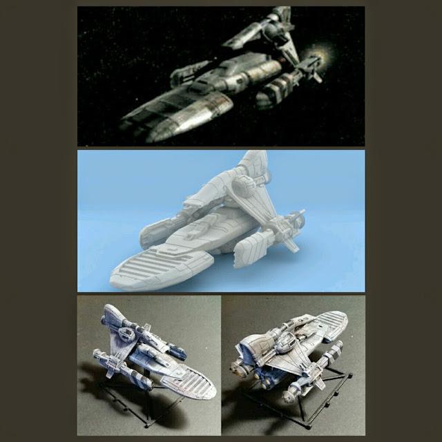 Baudo-Class Yatch de Mel Miniatures