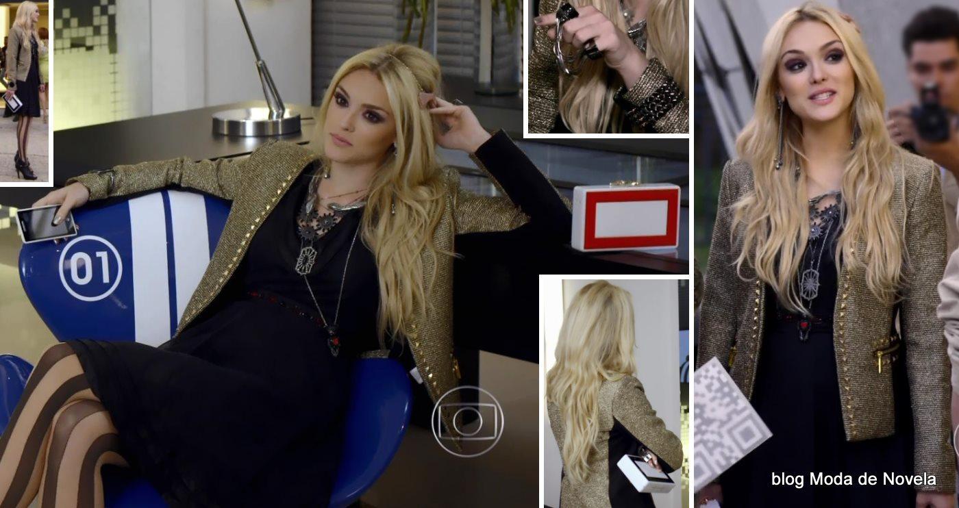 moda da novela Geração Brasil - look da Megan dia 21 de maio