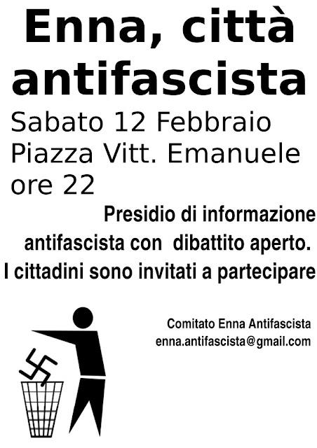 volantino comitato antifascista