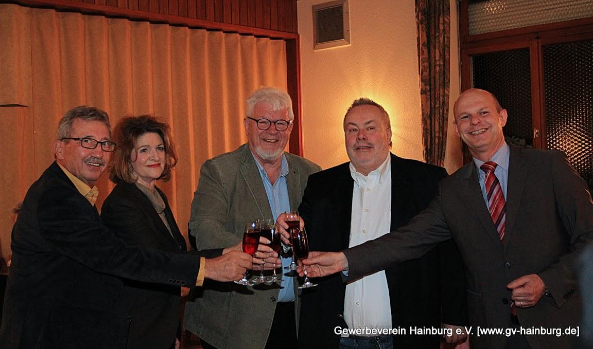 Horst Guckert, Renate Kins, Wolfgang Ochmann, Heinz Jäger, Andreas Grosser | Foto: Marina Kemmerer