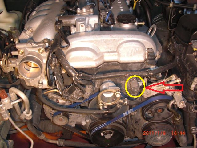 2004 Mazda 6 Engine Diagram on position sensor ford focus camshaft location