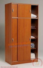 Tủ quần áo MDF veneer 026