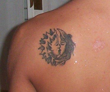 Galeria Tatuazy Tatuaze Słońca Ksiezyce Inne