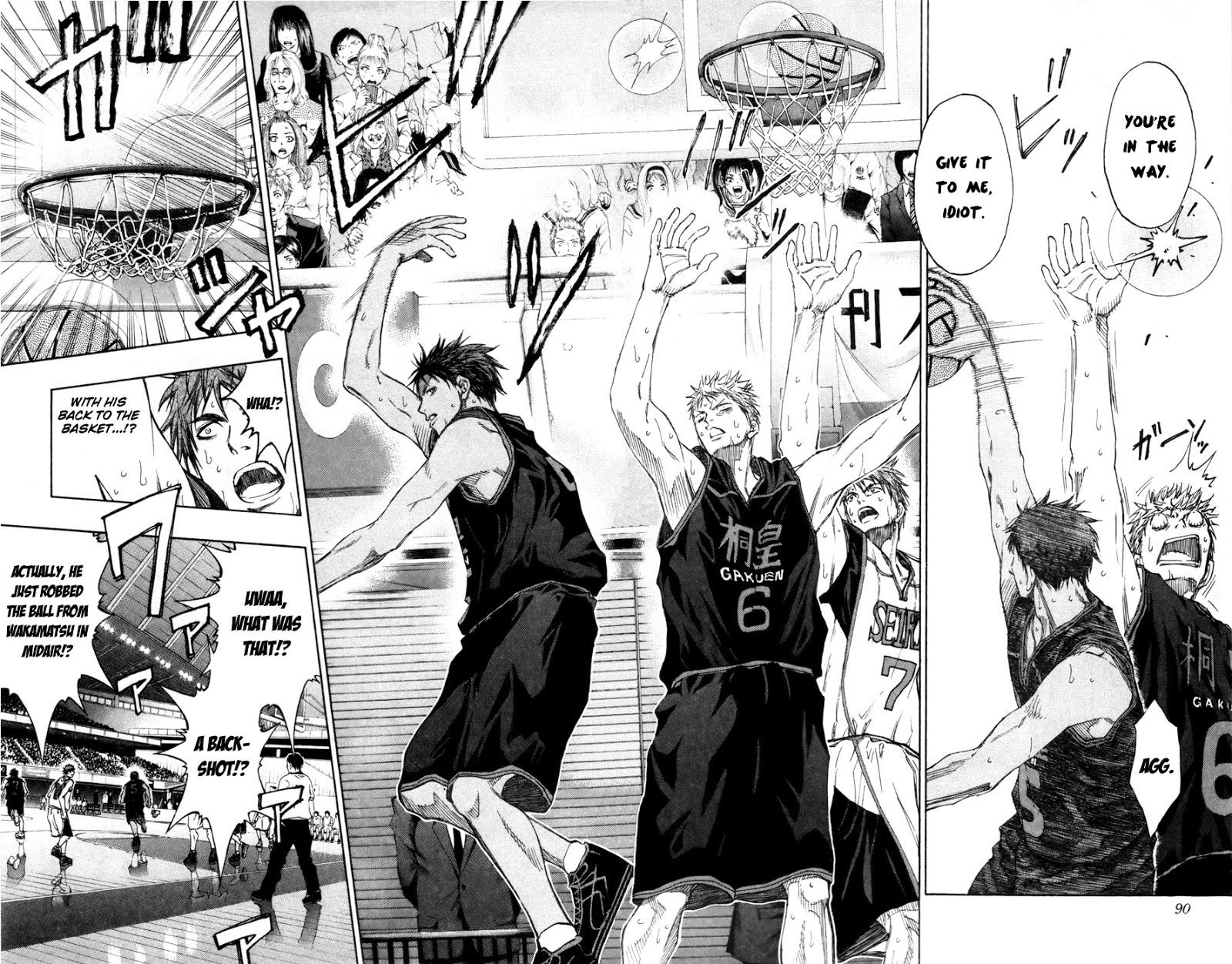 Kuroko no Basket Manga Chapter 122 - Image 05-06
