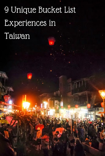 9 Unique Bucket List Experiences in Taiwan