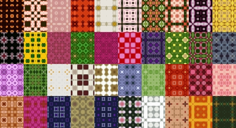 Free Seamlesss Pattern Set 8