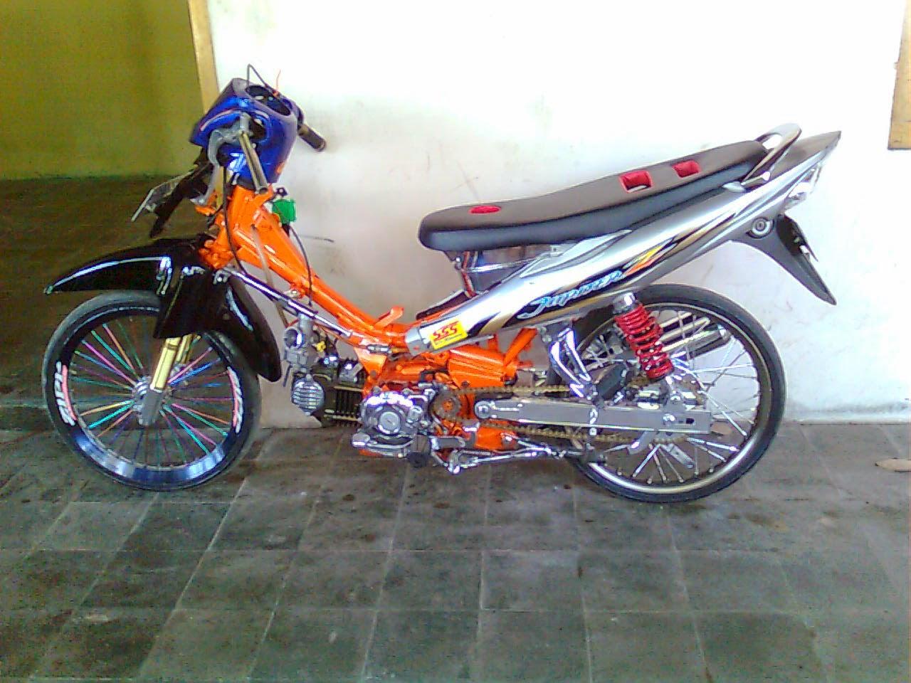 modifikasi motor jupiter z tahun 2008