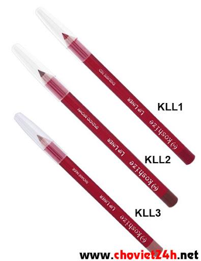 Chì kẻ môi Sophie - KLL1, KLL2, KLL3