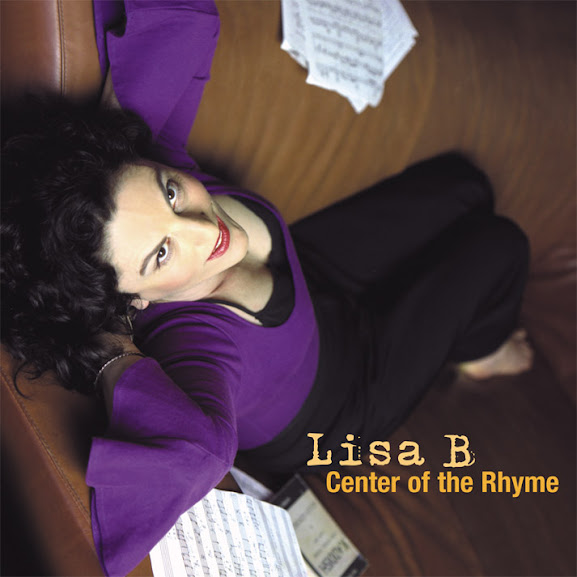 "cover of ""Center of the Rhyme"" by Lisa B (Lisa Bernstein)"