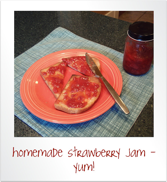 yummy strawberry freezer jam