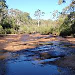 Looking upstream on Flat Rock Creek (172356)