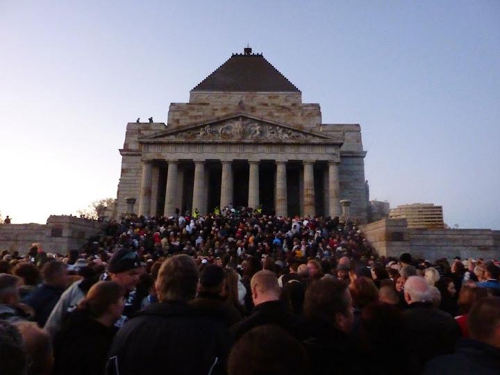 ANZAC Day dawn service, Melbourne