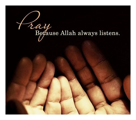 Doa (Pray).