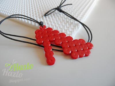 Cómo hacer un zapato de hama beads.