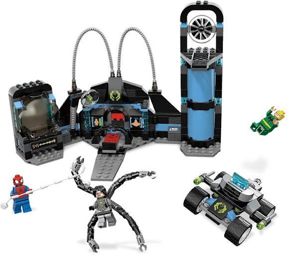 レゴ スーパーヒーローズ スパイダーマンの奇襲攻撃 6873