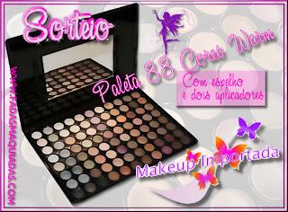 Sorteio Paleta 88 Cores Warm by Makeup Importada