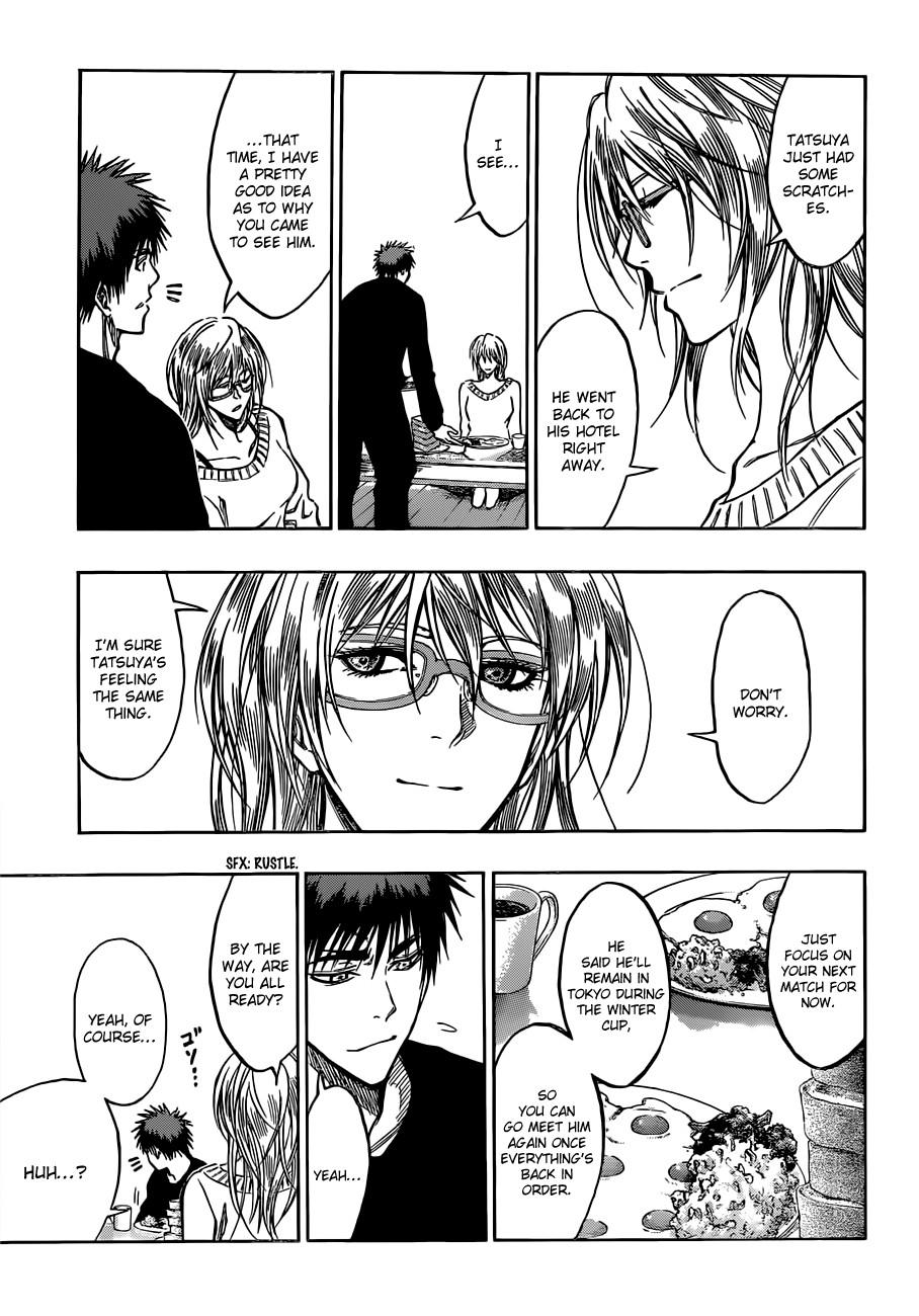 Kuroko no Basket Manga Chapter 174 - Image 03