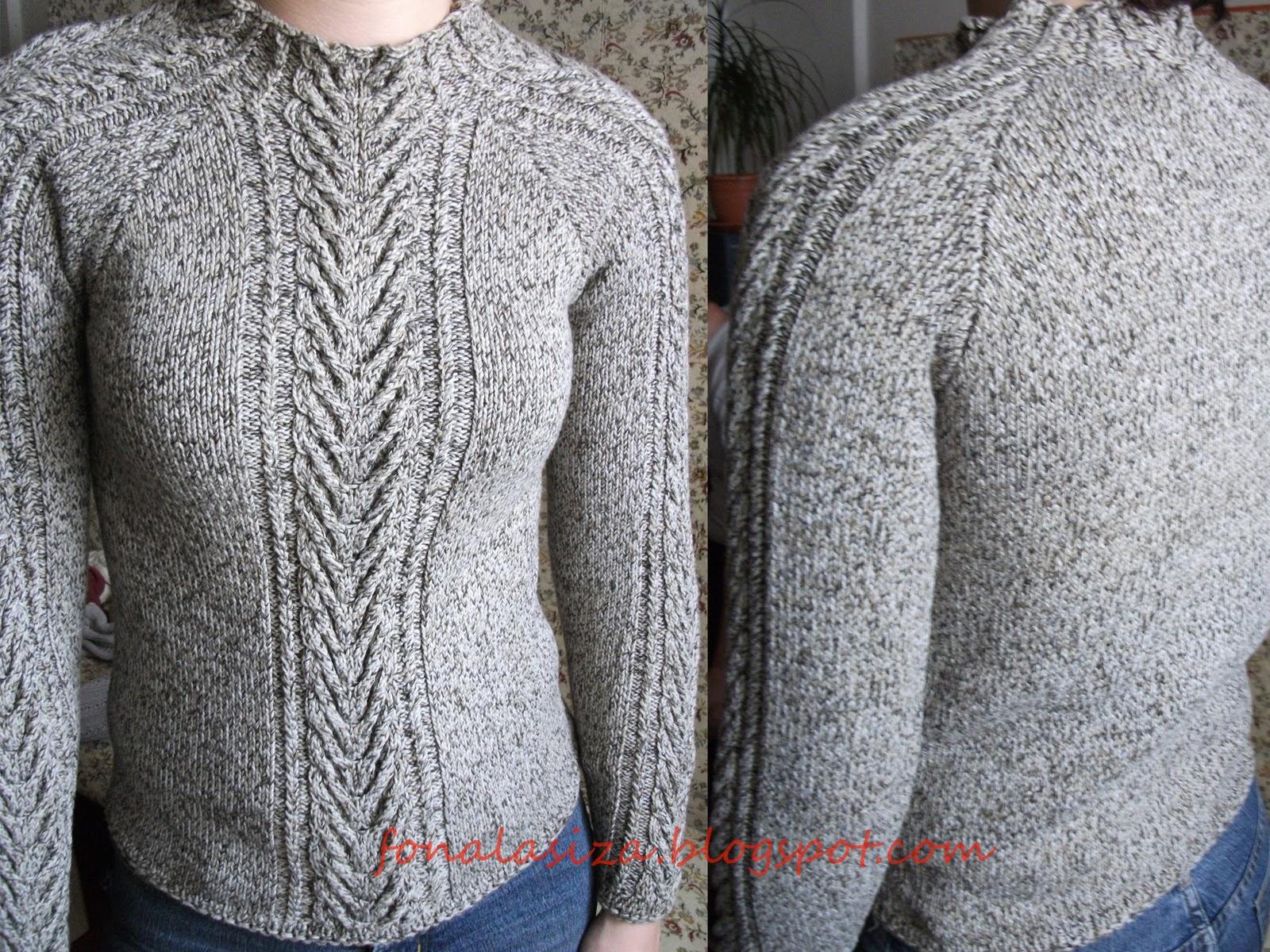 013284568f A másik érdekesség és egyben újdonság is számomra a pulóver nyak megoldása.  Semmi szem felszedés,csak szimplán a minta tovább kötése.