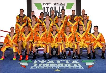 Argentina Condors vs Dolce & Gabbana Italia Thunder