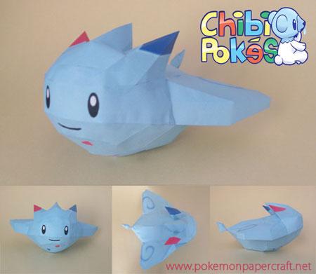 Chibi Togekiss Papercraft