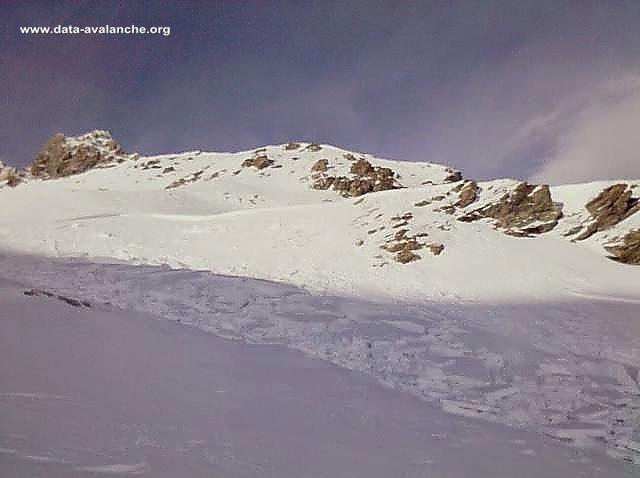 Avalanche Mont Thabor, secteur Grand Argentier, Face Est - Photo 1