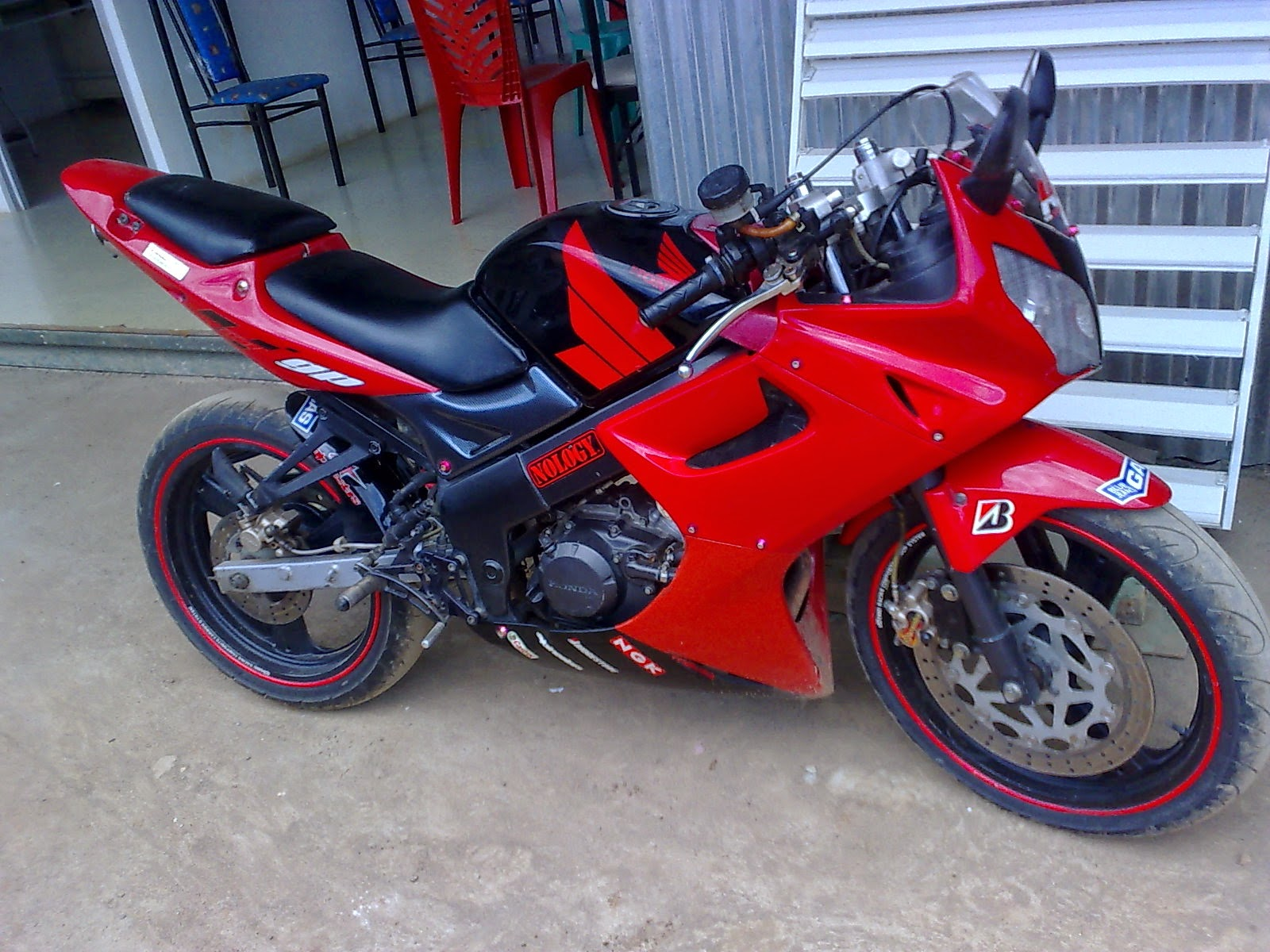 Honda New Cbr 150r Modifikasi