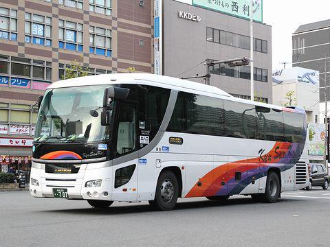 九州産交バス「サンライズ号」 707