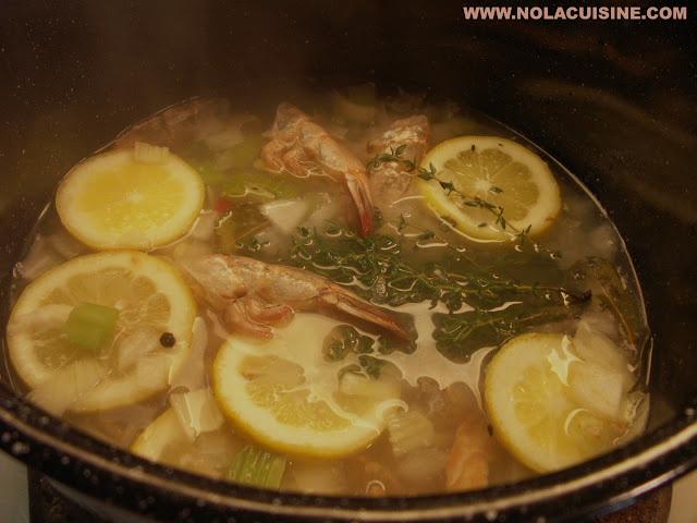 Shrimp Stock Recipe | Nola Cuisine