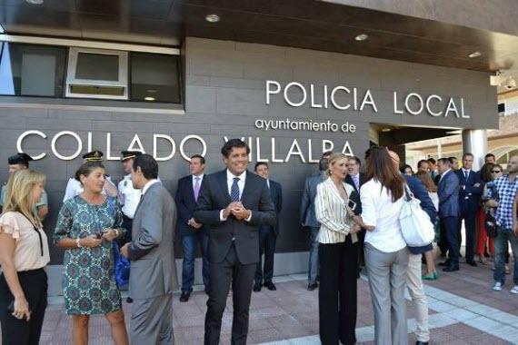 Nueva comisaría de la Policía Local de Collado Villalba
