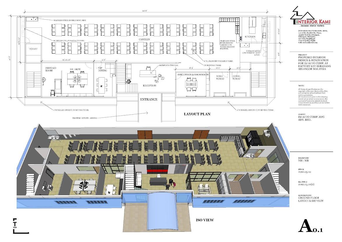 Beranang, Semenyih Factory office and canteen design and build