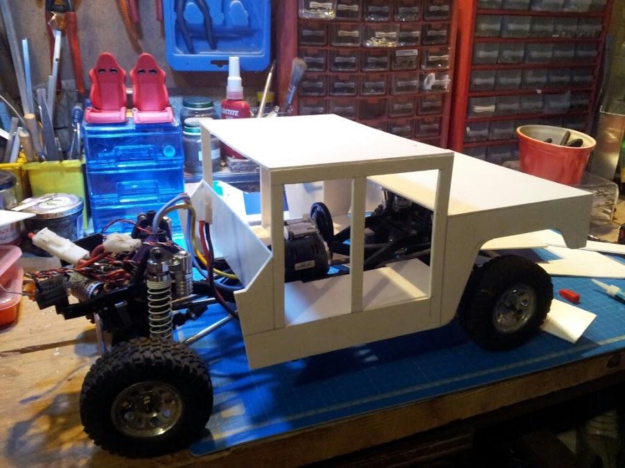 AXIAL SCX10 Hummer H1 Full styrene devient Full Zinc %5BUNSET%5D