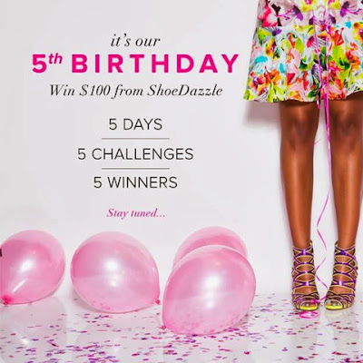 Win Shoes! Happy Birthday, ShoeDazzle!