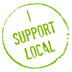 Grab button for I Support Local