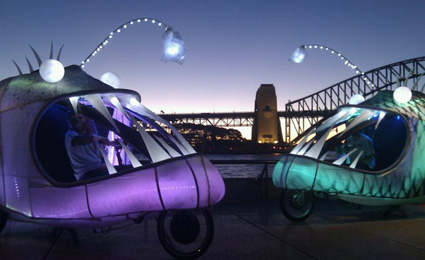 Illuminated Fish Bikes in Sydney