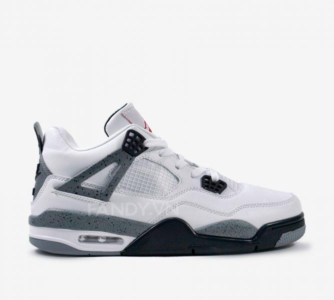 Giày Air Jordan 4 White Cement