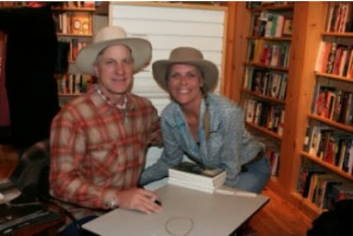 Craven with Buck Brannaman at Dolly's Bookstore, Park City, Utah