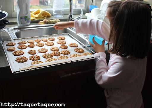 las galletas y la orgullosa repostera