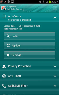 Kaspersky Mobile Security v9.10.136 for Android